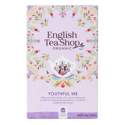 English Tea Shop Organic Wellness Youthful Me Tea New Pack
