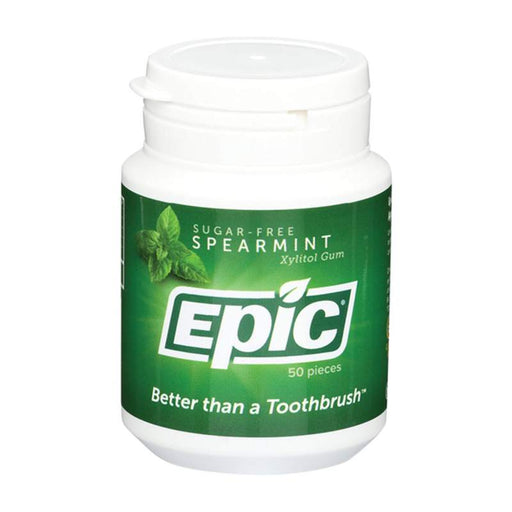 EPIC Xylitol Chewing Gum Spearmint 50