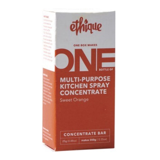 ETHIQUE Multi-purpose Kitchen Spray Concentrate - Sweet Orange (One Box Makes One Bottle of 350g) - 25g