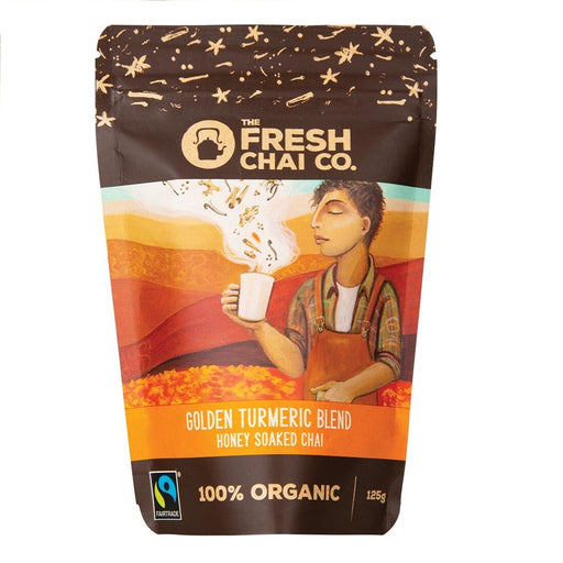 The Fresh Chai Co. Golden Turmeric Blend Honey Soaked Chai 125g