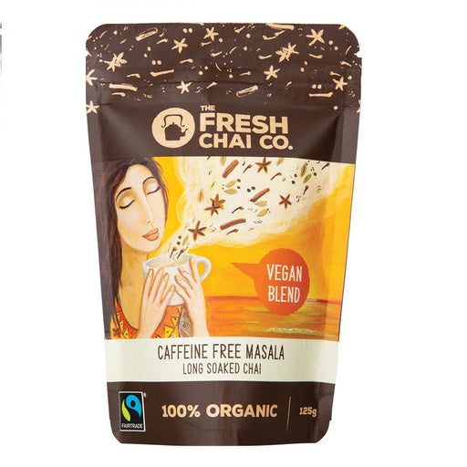 The Fresh Chai Co. Vegan Caffeine Free Masala Long Soaked Chai 125g