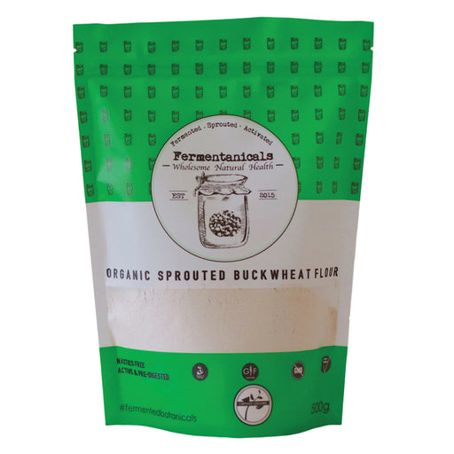 Fermentanicals Organic Sprouted Buckwheat Flour