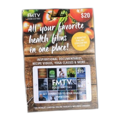 FOOD MATTERS FMTV Gift Card $20 Value