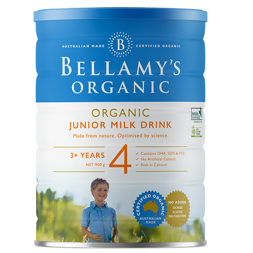 Bellamys Organic Step 4 Junior Milk