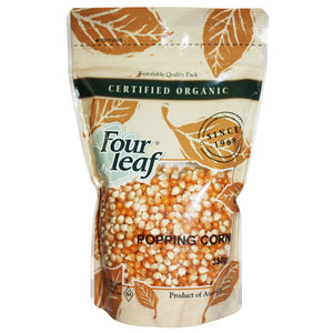 Four Leaf Organic Popping Corn 350g