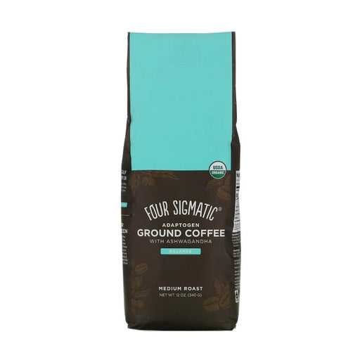 Four Sigmatic - Adaptogen Coffee Medium With Ashwagandha & Tulsi 340g
