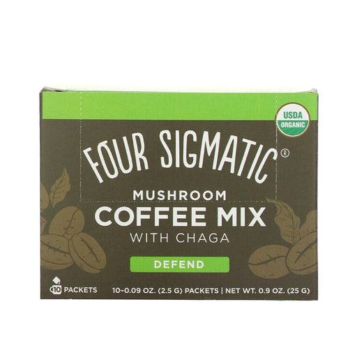 FOUR SIGMATIC Mushroom Coffee Mix with Cordyceps 10 Sachets