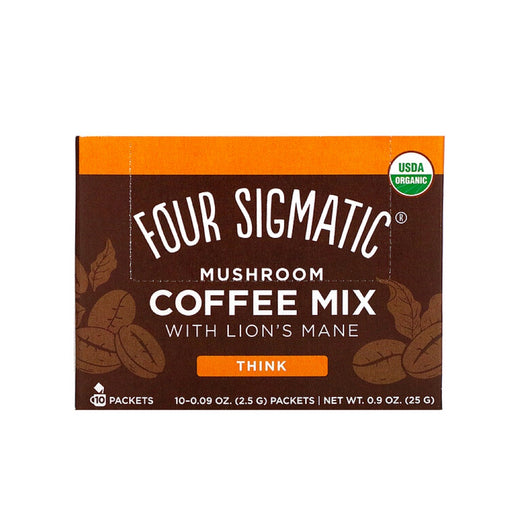 FOUR SIGMATIC Mushroom Coffee Mix with Lion's Mane & Chaga 10 Sachets