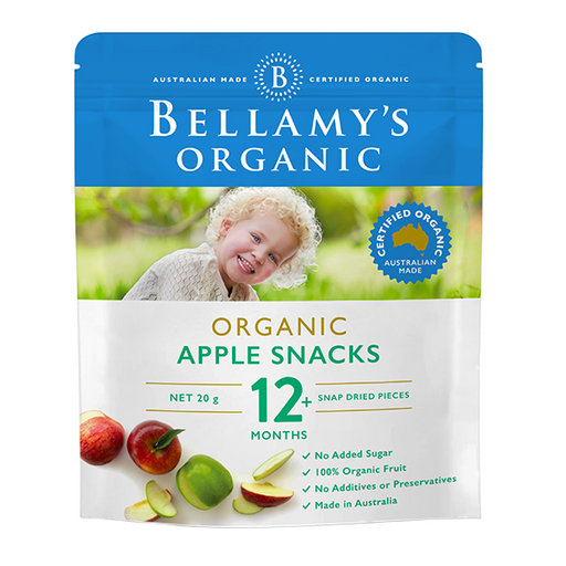 Bellamys Organic Apple Snack