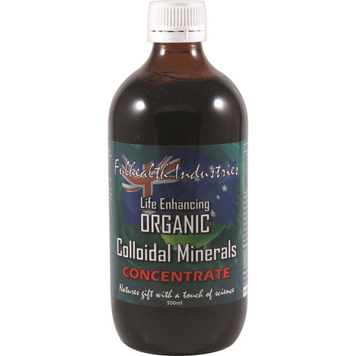 FULHEALTH Organic Colloidal Minerals Concentrate 500ml