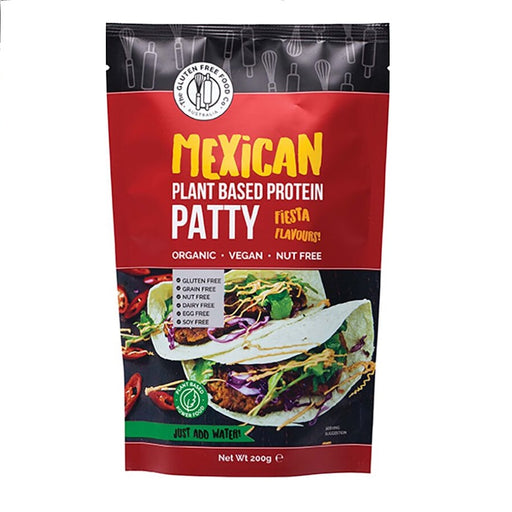 The Gluten Free Food Co. Protein Patty Mix - Mexican