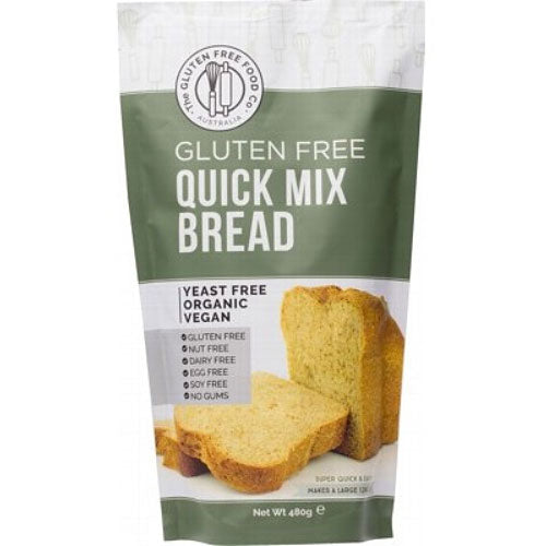 THE GLUTEN FREE FOOD CO Organic Quick Bread Mix 480g