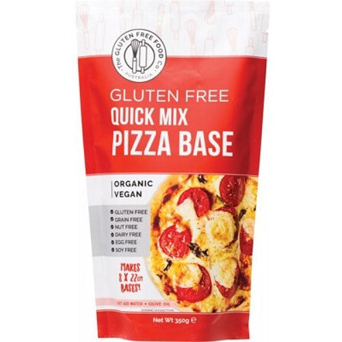 THE GLUTEN FREE FOOD CO Organic Quick Pizza Base Flour Mix