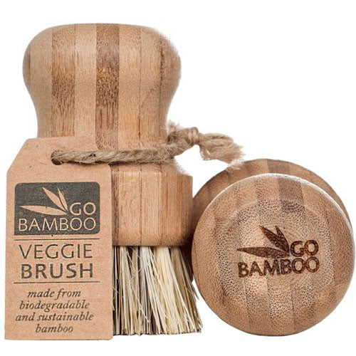 GO BAMBOO Natural Veggie Brush