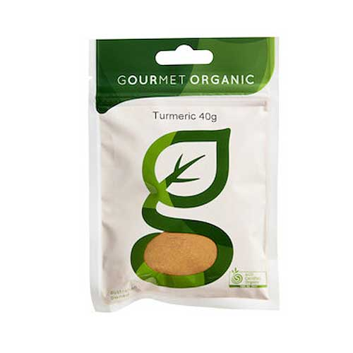 GOURMET ORGANIC Ground Turmeric 40g