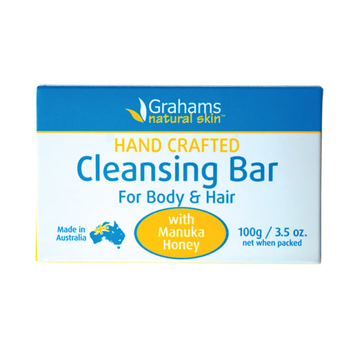 Grahams Natural For Hair and Body Cleansing Bar