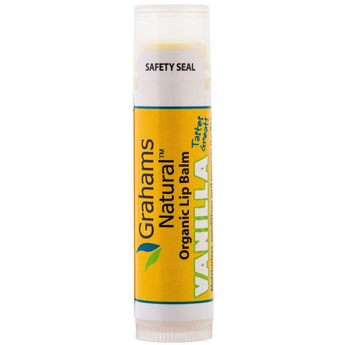 GRAHAMS NATURAL Organic Lip Balm Vanilla 4.25g