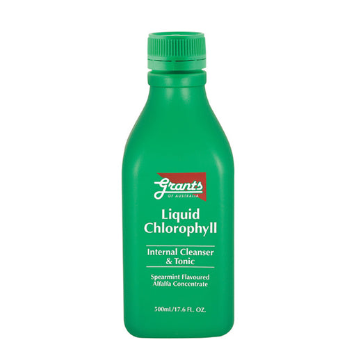 Grants Spearmint Flavour Liquid Chlorophyll Concentrate