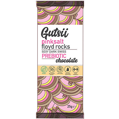 GUTSII Prebiotic Chocolate Pinksalt Floyd Rocks 25g