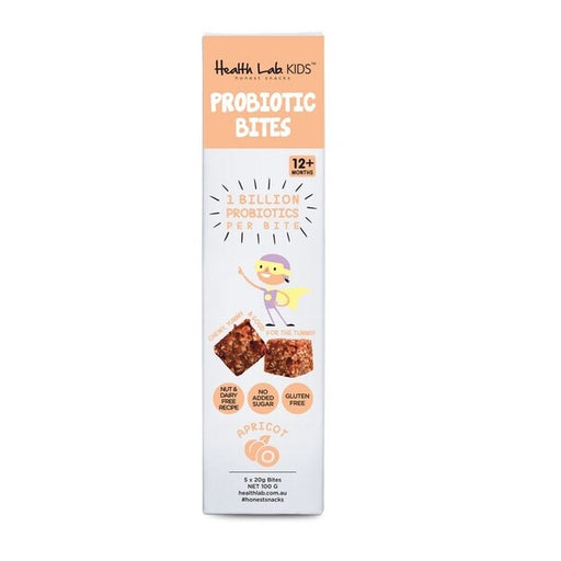 Health Lab 8 Pack Probiotic Apricot Bliss Bites