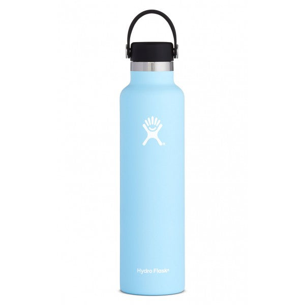HYDRO FLASK Standard Mouth Bottle - Flex Cap Double Insulated - Frost