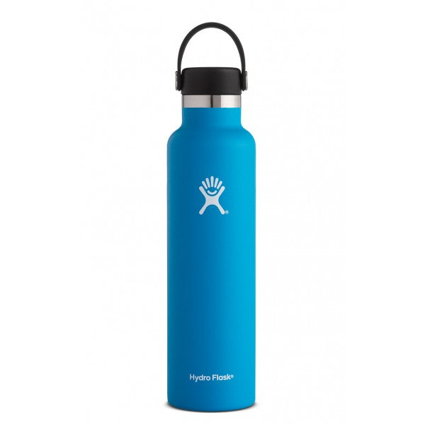 HYDRO FLASK Standard Mouth Bottle - Flex Cap Double Insulated - Pacific