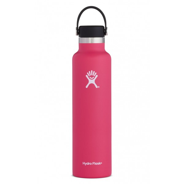 HYDRO FLASK Standard Mouth Bottle - Flex Cap Double Insulated - Watermelon