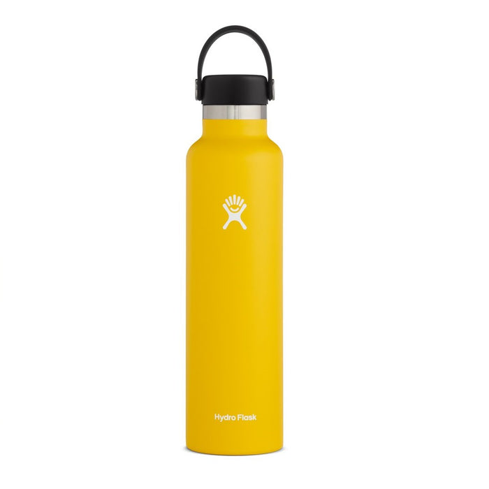 Hydro Flask Standard Mouth Bottle - Flex Cap Double Insulated - 709ml Sunflower