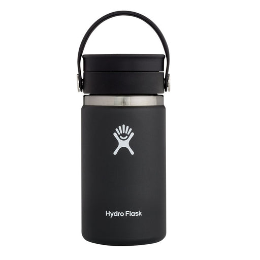 Hydro Flask Wide Mouth Coffee Flask - Flex Sip Double Insulated - 354ml Black
