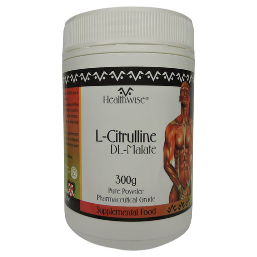 Healthwise L-Citrulline DL-Malate Powder 300g