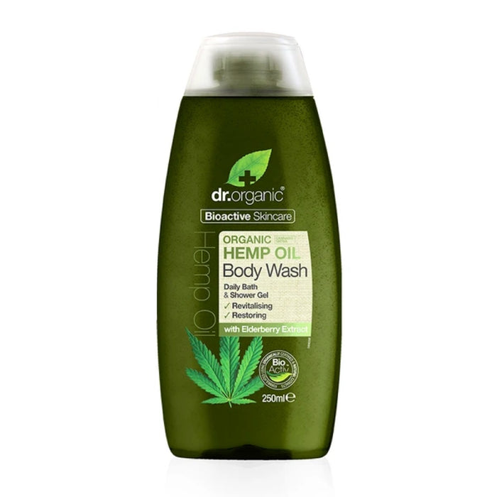 DR ORGANIC Body Wash Hemp Oil 250ml