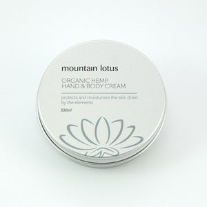 Mountain Lotus Organic Hemp Hand & Body Cream
