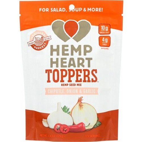 MANITOBA HARVEST Hemp Heart Toppers Chipotle Onion & Garlic 125g