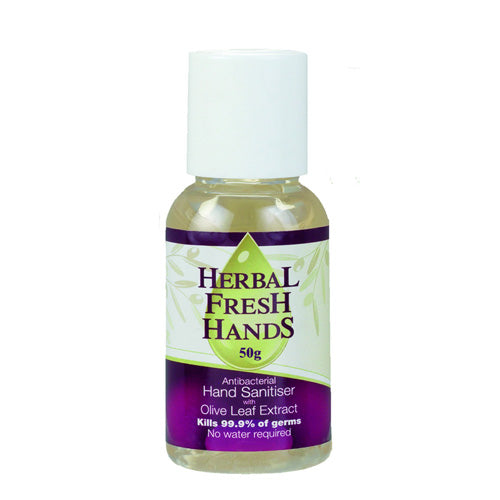 Herbal Extract Company Herbal Fresh Hands (Antibacterial Hand Sanitiser w Olive Leaf Extract) 50g