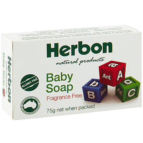 HERBON Biodegradable Baby Soap 75g