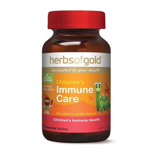 Herbs of Gold Chewable Children's Immune Care 60t