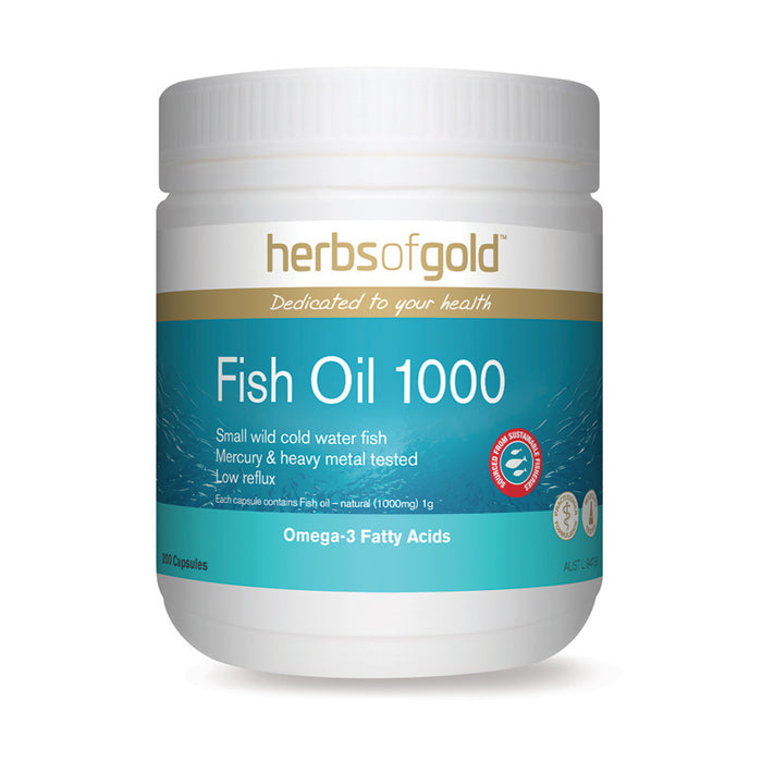 Herbs of Gold Fish Oil 1000 200c