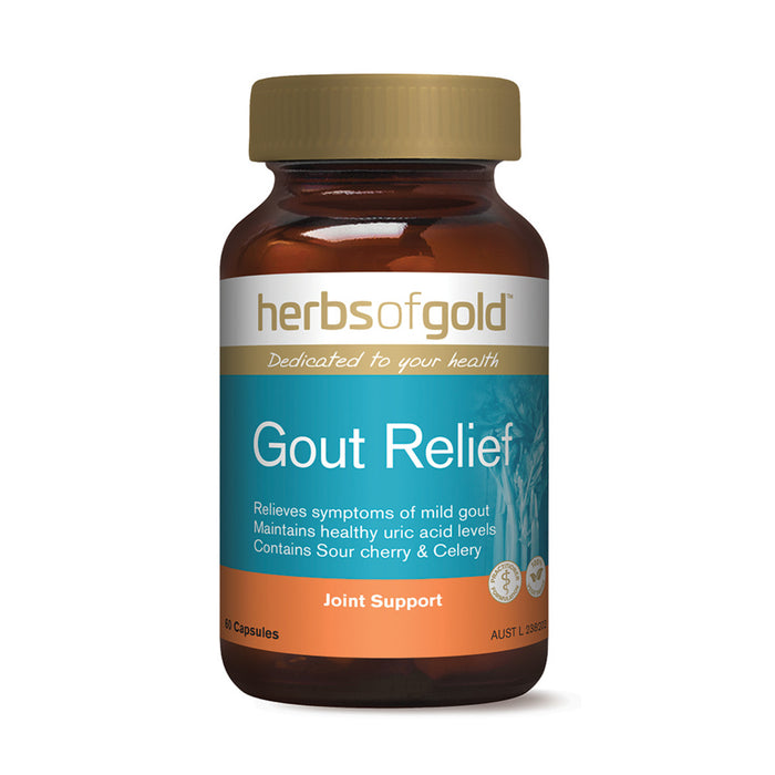 Herbs of Gold Gout Relief 60c