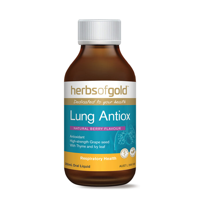 Herbs of Gold Lung Antiox 200ml