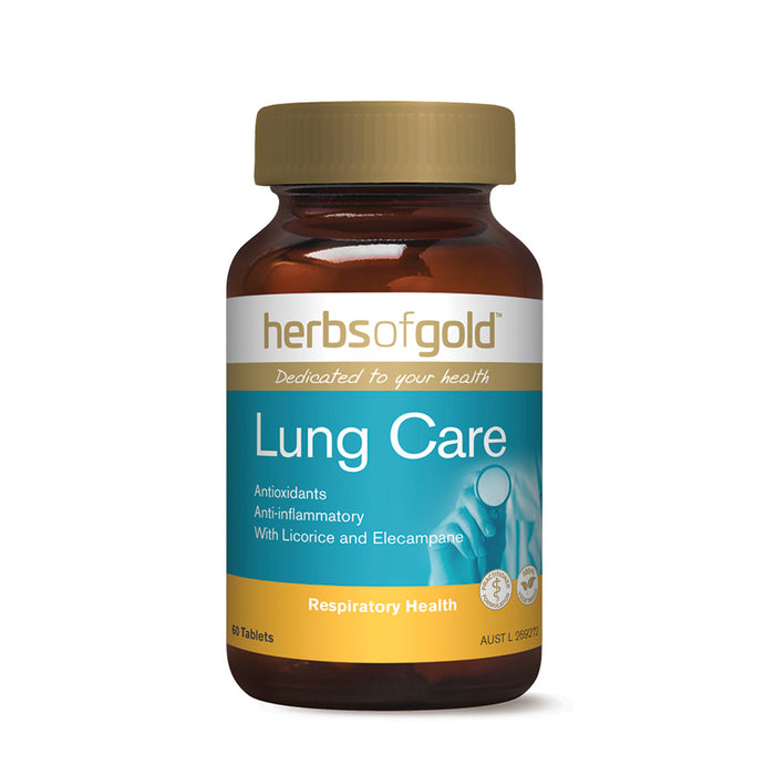 Herbs of Gold Lung Care 60t