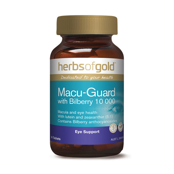 Herbs of Gold Macu Guard with Bilberry 10 000