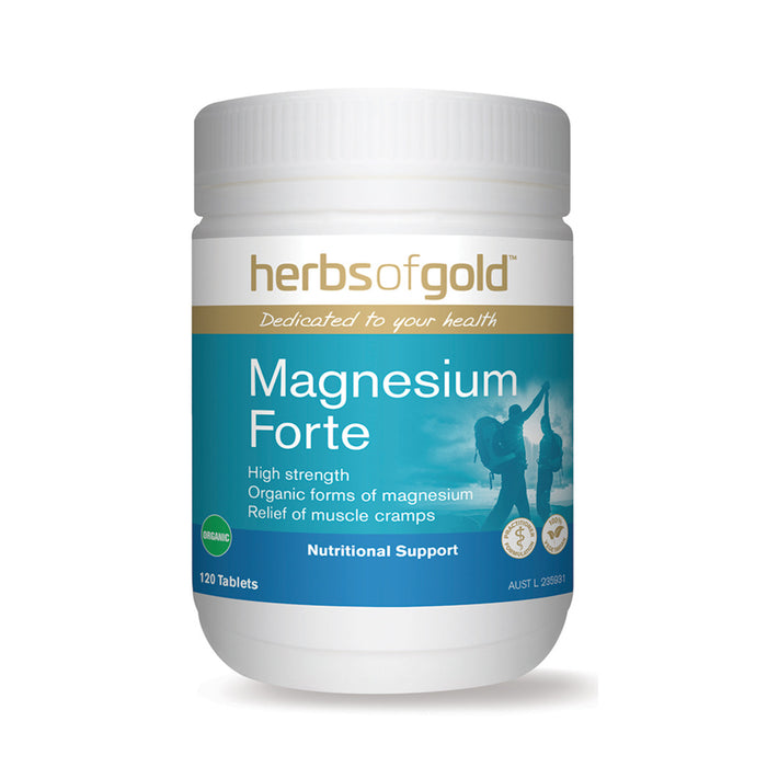 Herbs of Gold Magnesium Forte 120t