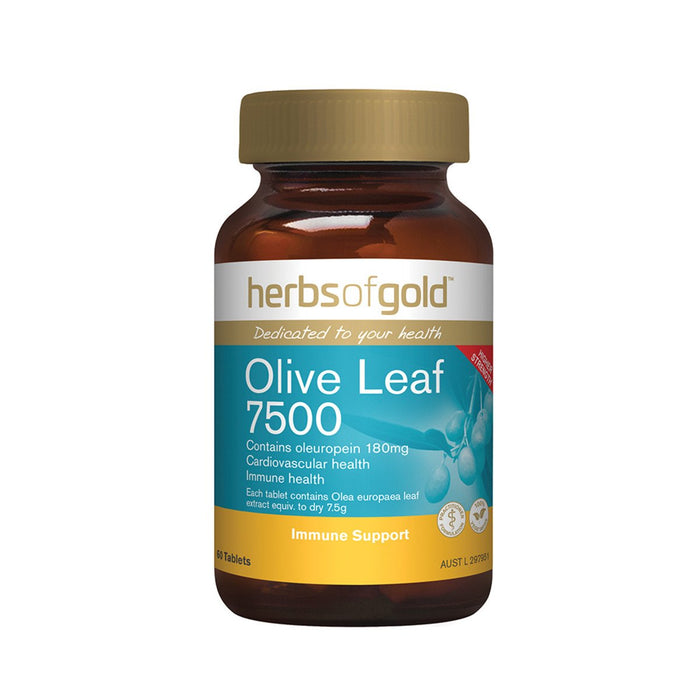 Herbs of Gold Olive Leaf 60t
