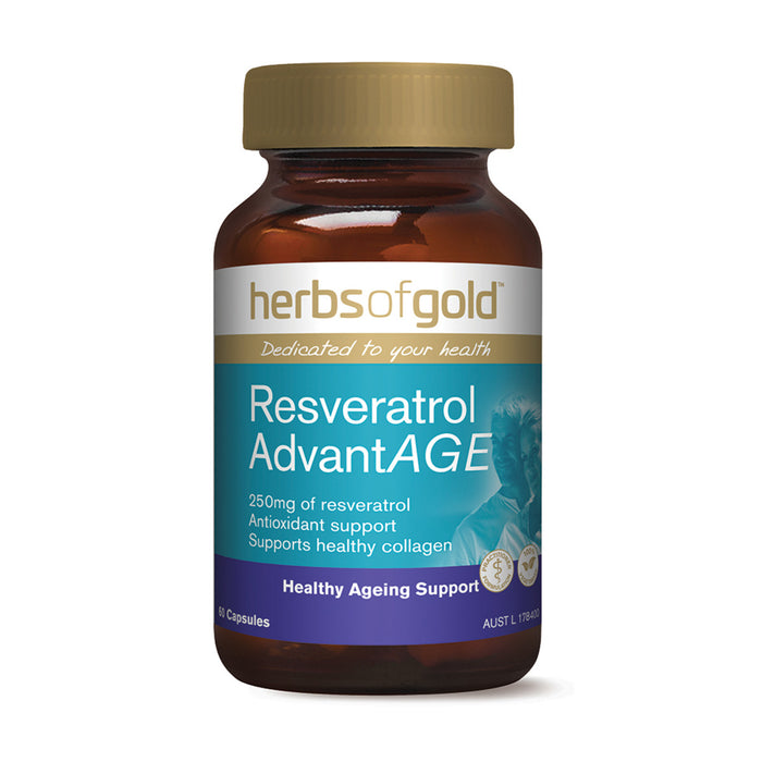 Herbs Of Gold Resveratrol AdvantAGE 60c
