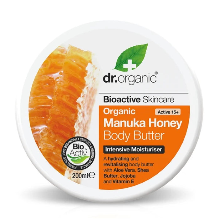 DR Organic Manuka Honey Organic Body Butter 200ml