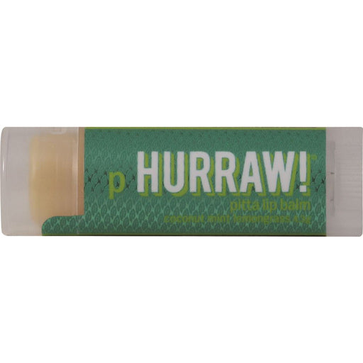 Hurraw! Pitta, Coconut Mint & Lemongrass Lip Balm