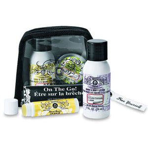 JR WATKINS On the Go Kit Lip Hand and Body Lotions