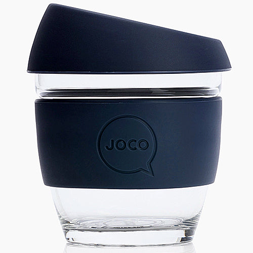 JOCO Original Glass Reusable Cup Mood Indigo 8oz 236ml