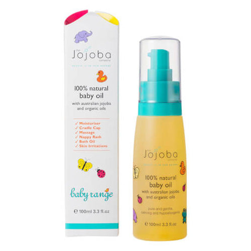 THE JOJOBA COMPANY 100% Natural Baby Oil