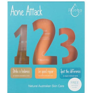 Jojoba Company Acne Attack Kit